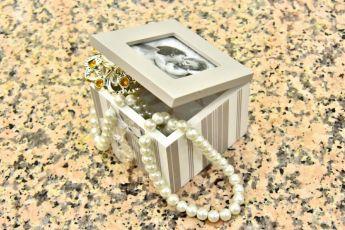 Cutie lemn bijuterii